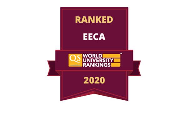 Khazar University is among top 250 Universities in QS EECA University Rankings 2020