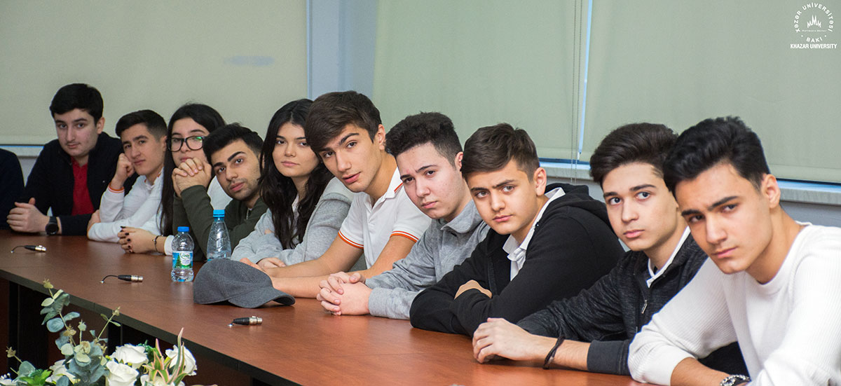 """Dunya"" Students Visited Khazar University"