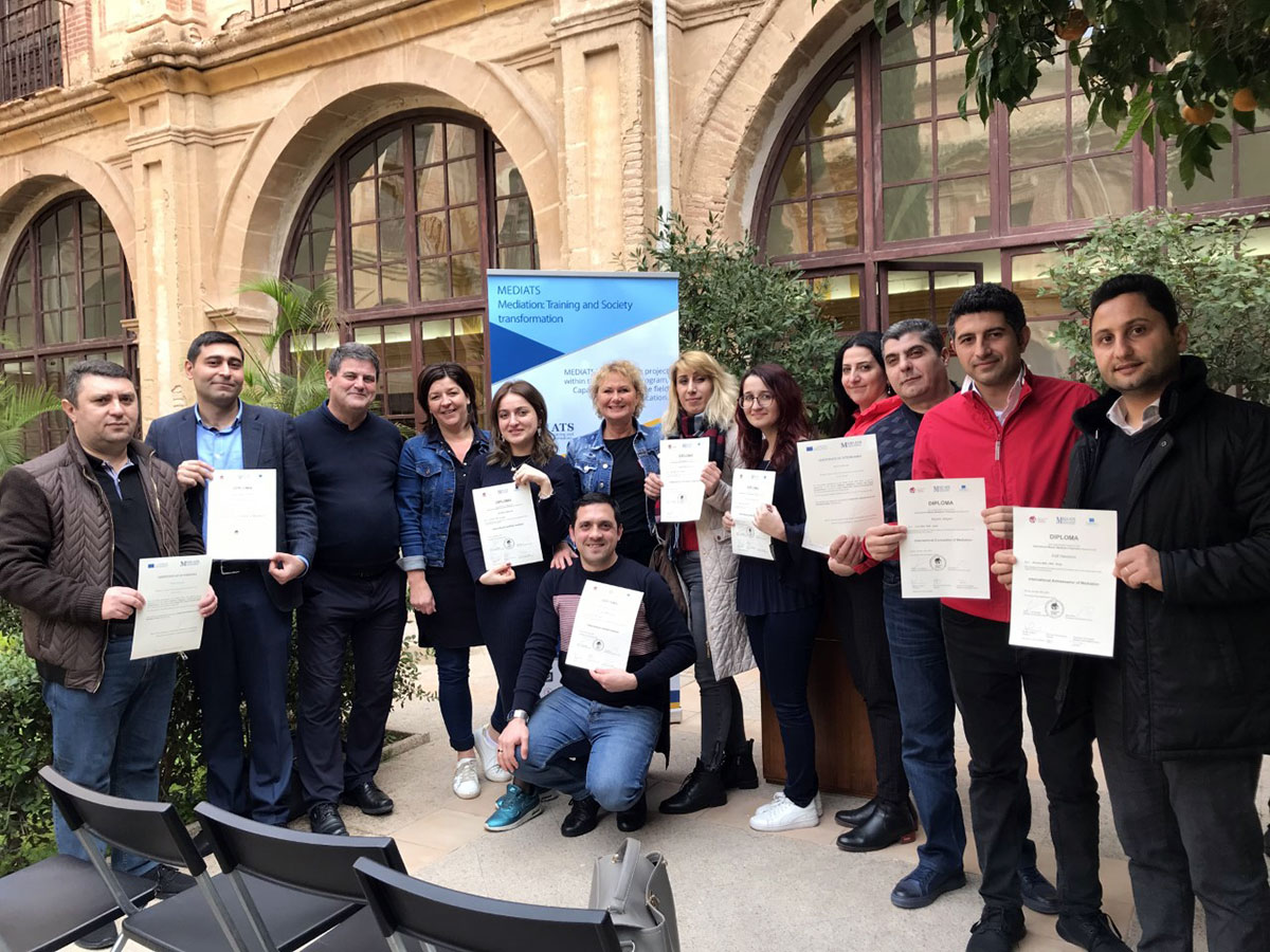 AZERTAC Spread News about Khazar University Staff Members Awarded with International Diplomas in Spain