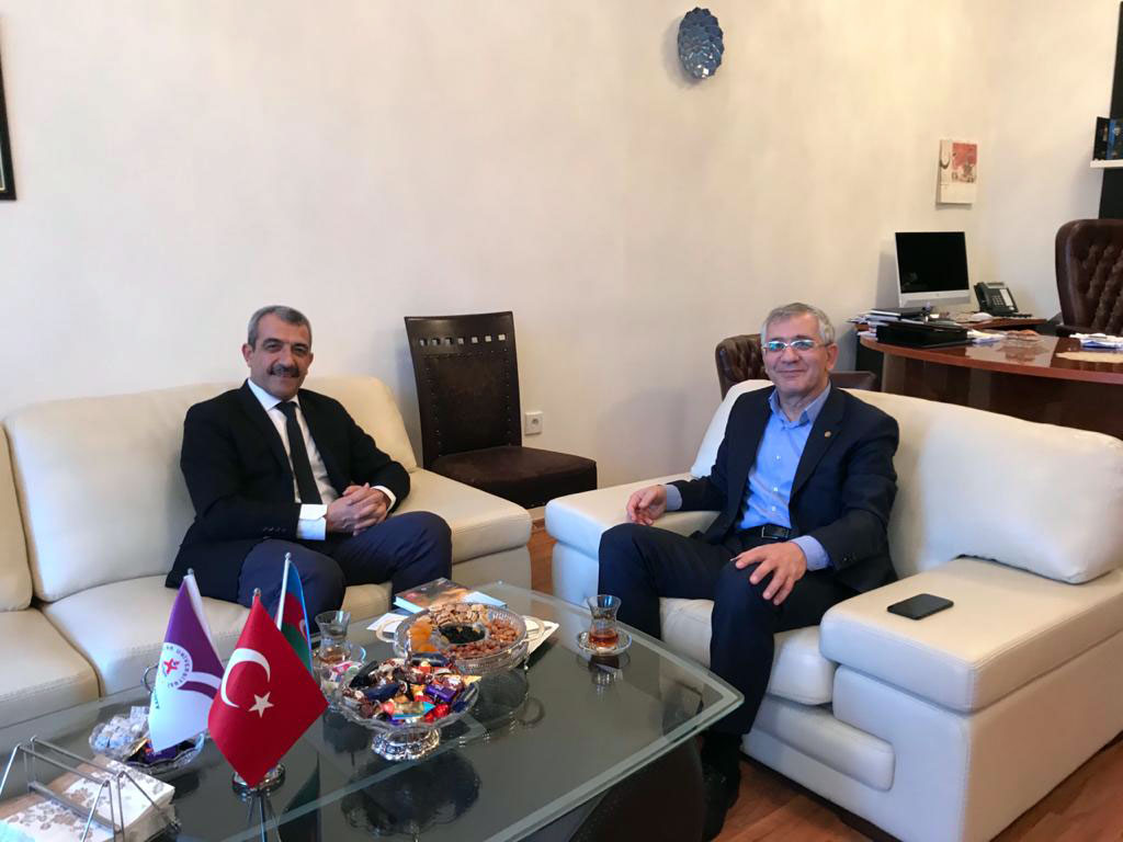 Turkish Embassy Education Advisor Visited Khazar University