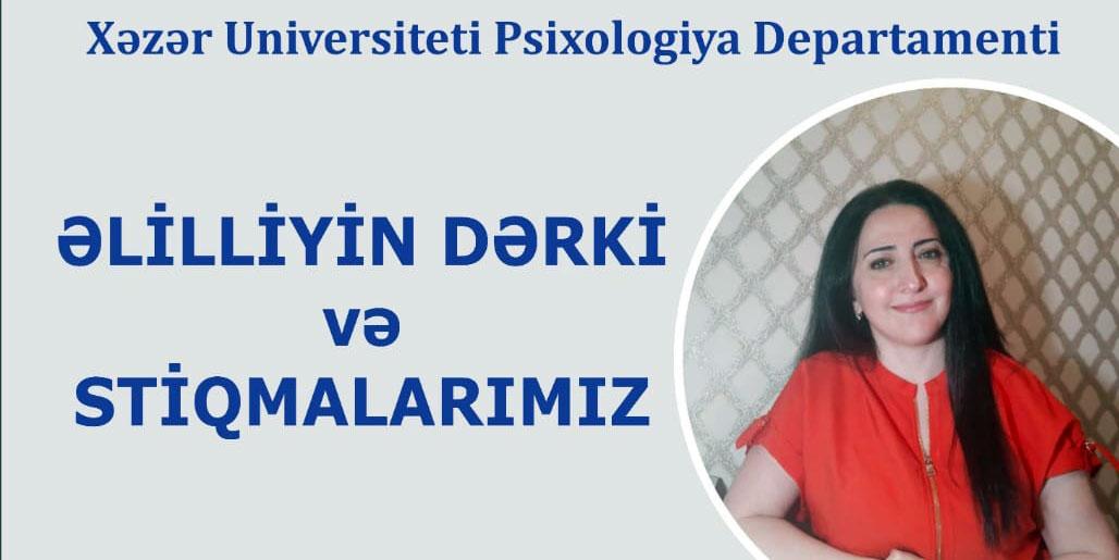 """""""Əlilliyin dərki və stiqmalarımız"""" mövzusunda təlim"""