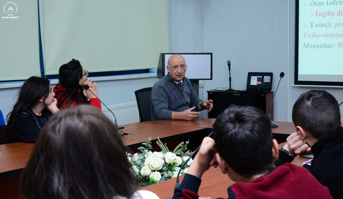 """Kitab gazar"" visited Khazar University Together with Group of Students"