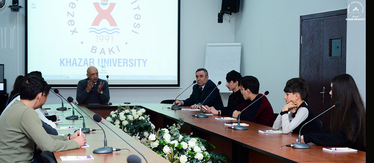"AZERTAC Reported on the Presence of High School Students at Khazar University as part of the ""Book Seeker"" Project"