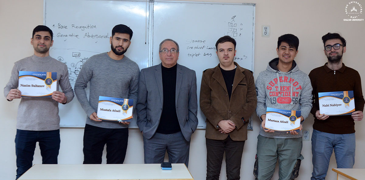 "Series of Scientific Seminars ""Data with Python"" Concluded at Khazar University"