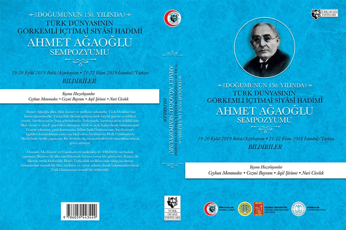 "Professor Hamlet Isakhanli's Article in Book ""Ahmet Agaoglu Symposium"""