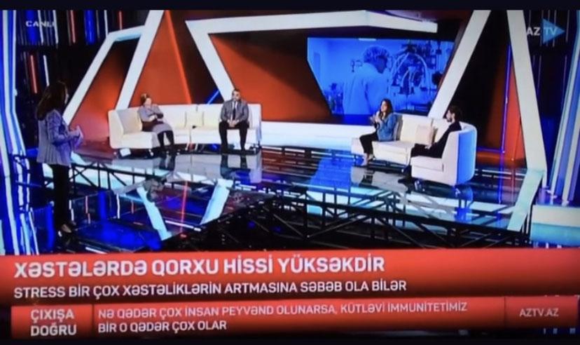 """""""Xəzər""""in əməkdaşı AZTV-nin """"Çıxışa doğru"""" proqramında"""