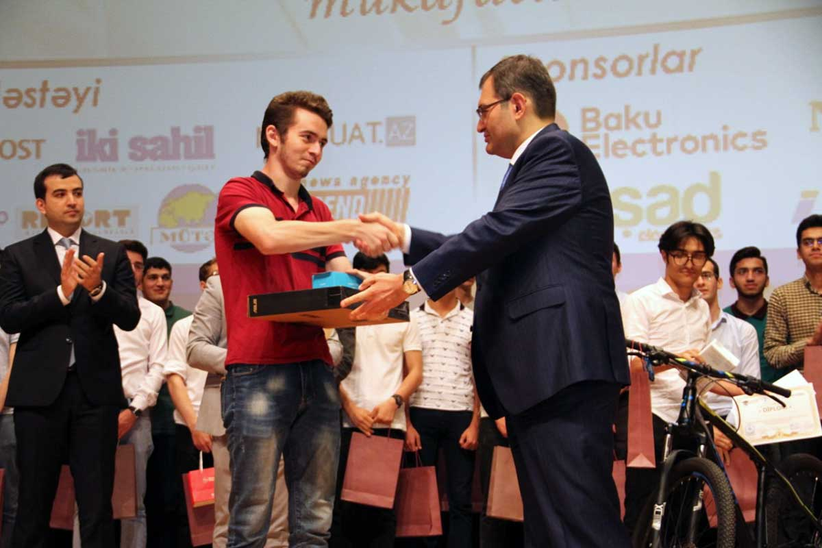 "Winner of ""Intellectual Olympiad Among Students"" is Khazar University's Student"