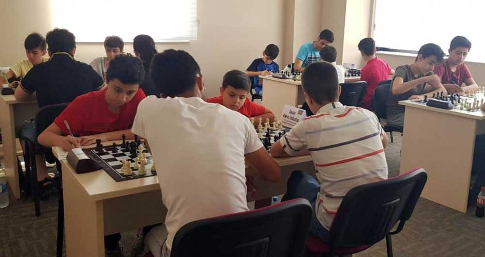 "Team rankings for ""Youth Cup"" Started at Khazar University Chess Academy"