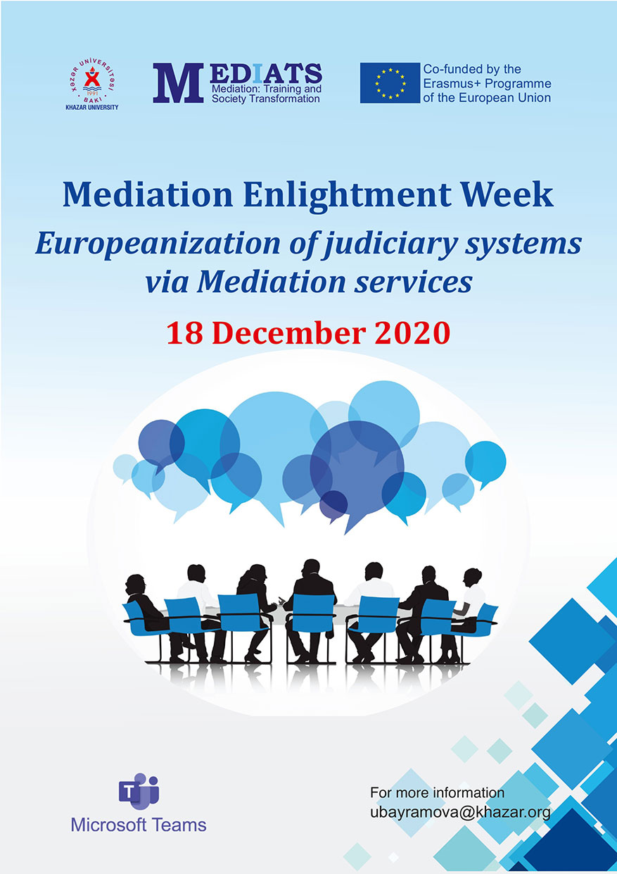 Webinar on Europeanization of judiciary systems via Mediation services