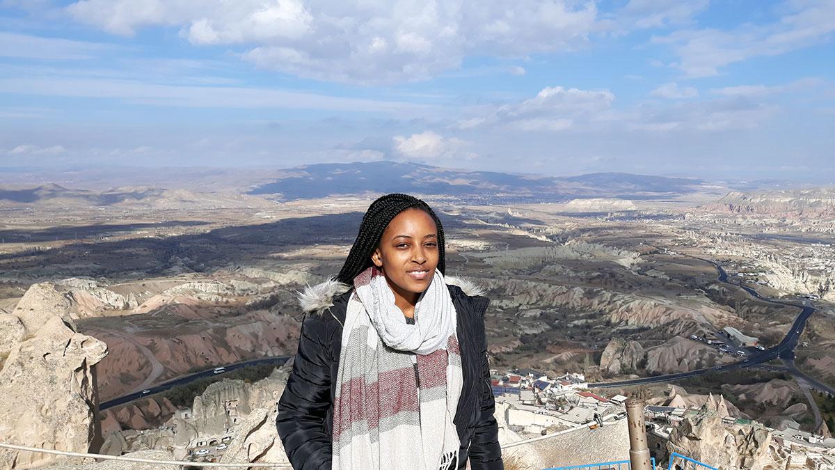 Joyce Lisa Muduve Erasmus+ çərçivəsində Manisa Celal Bayar Universitetində oldu