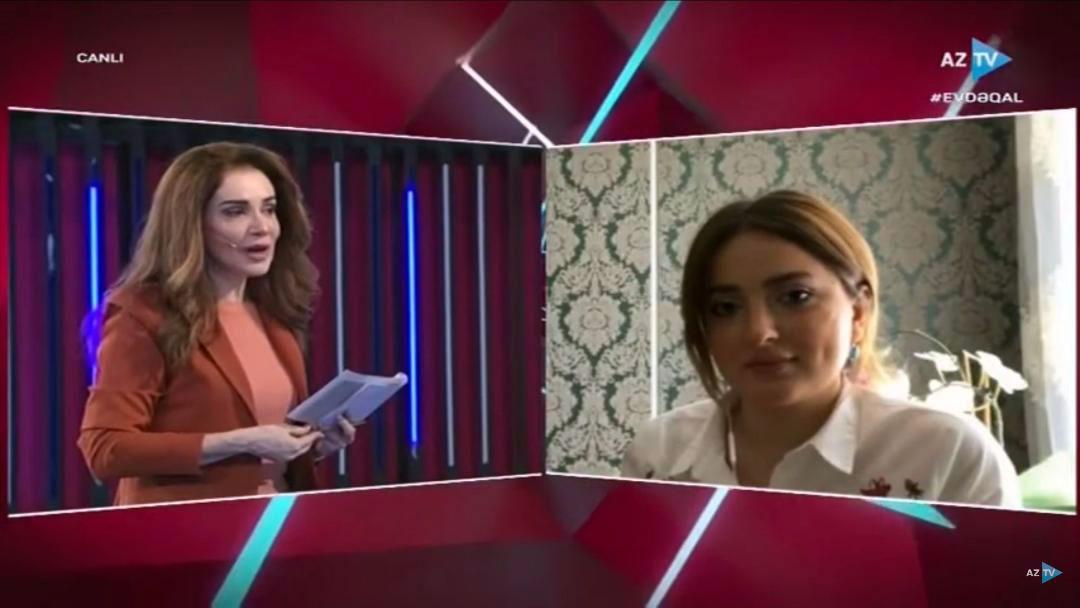 Psychology Department's Teacher was Guest on AzTV