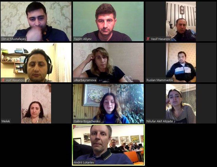 Online Meeting with MEDIATS Project Coordinator