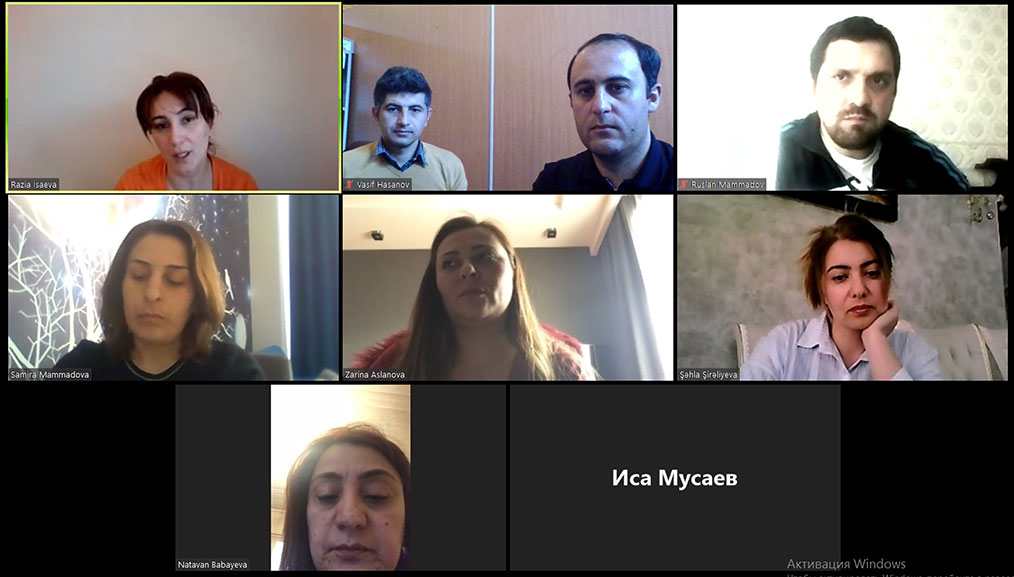 Online Meeting of PETRA NETWORK