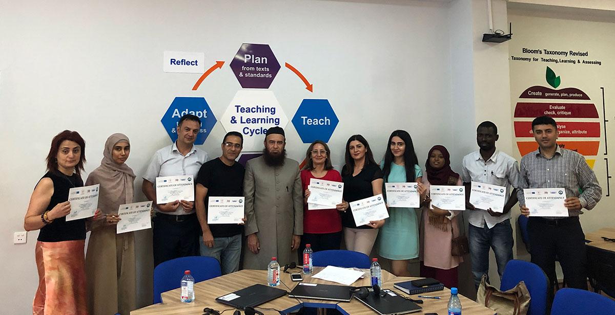 Professor Nadeem Fazalın təqdimatında iki seminar