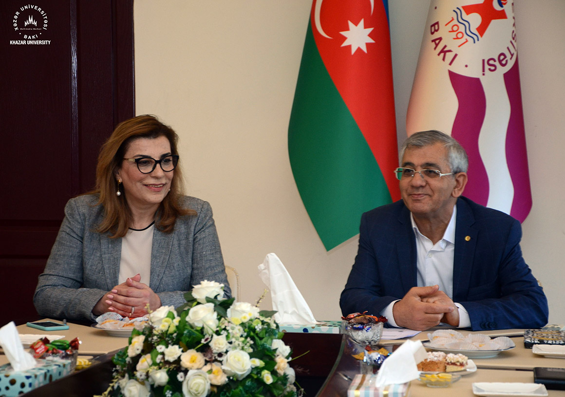 DTRO Representatives Visited Khazar University