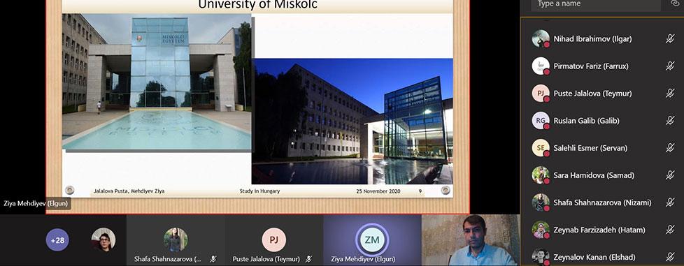 """How to apply for Graduate programs"" vitual seminar"