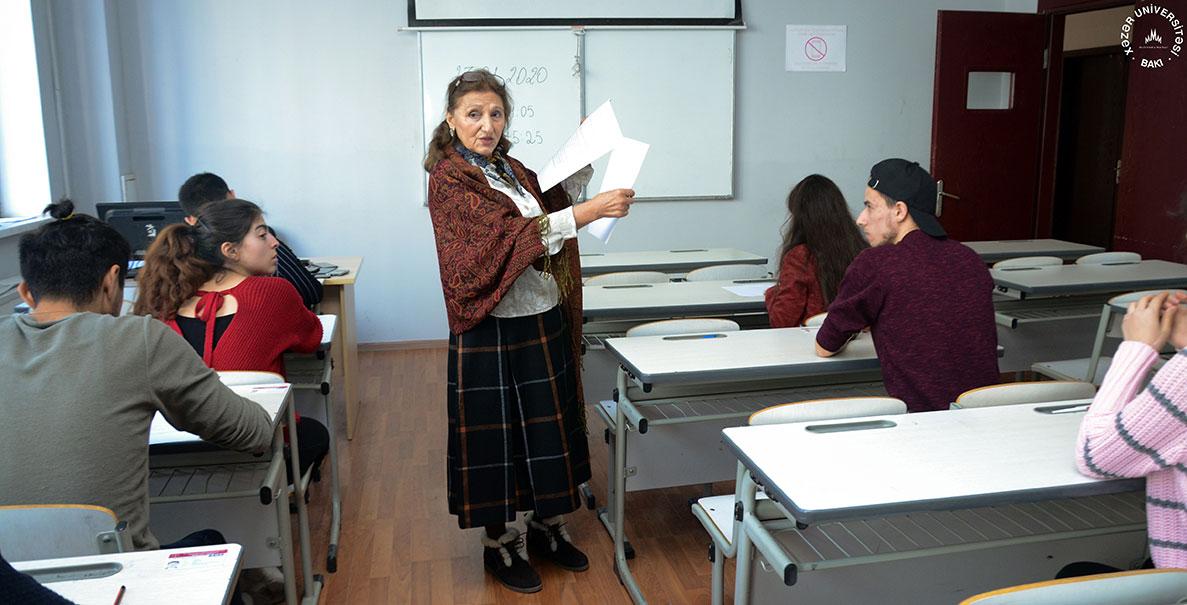 Xəzər Universitetində birinci semestrin final imtahanları – FOTOSESSİYA