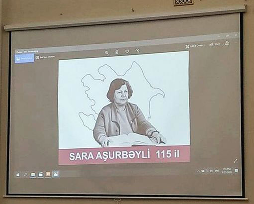 Websites Spread News about Event Dedicated to the Memory of Sarah Ashurbeyli - Honorary Doctor of Khazar University