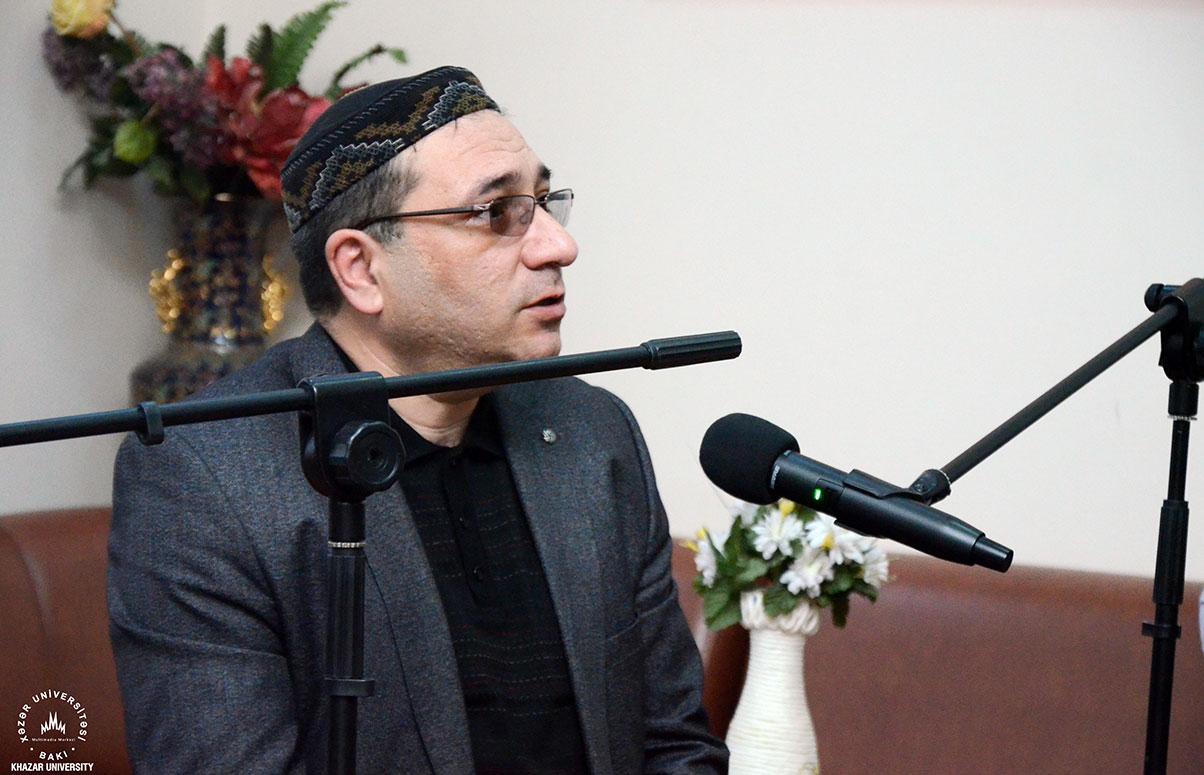 """İlqar Fəhminin təqdimatında """"Müasir ədəbiyyatda irfani əsintilər"""" adlı tədbir keçirildi"""