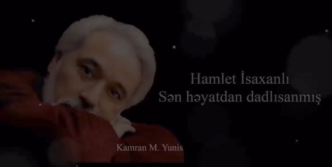 Professor Hamlet Isakhanli's Poem Performed