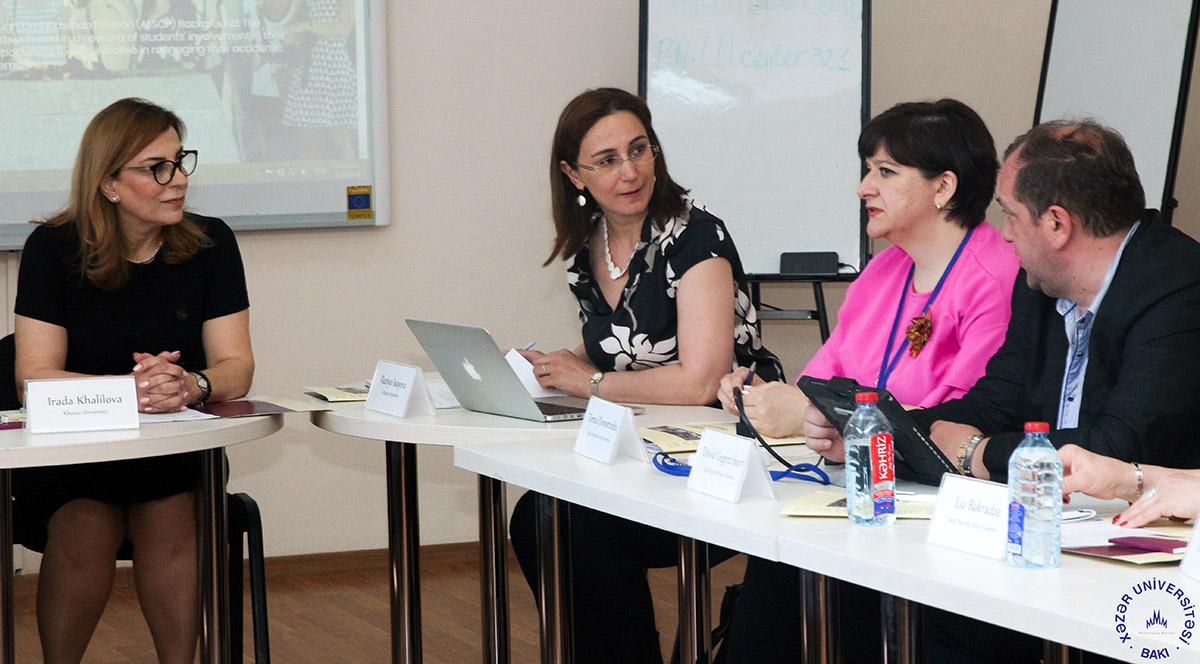 Erasmus+ AESOP layihəsinin növbəti idarəetmə görüşü
