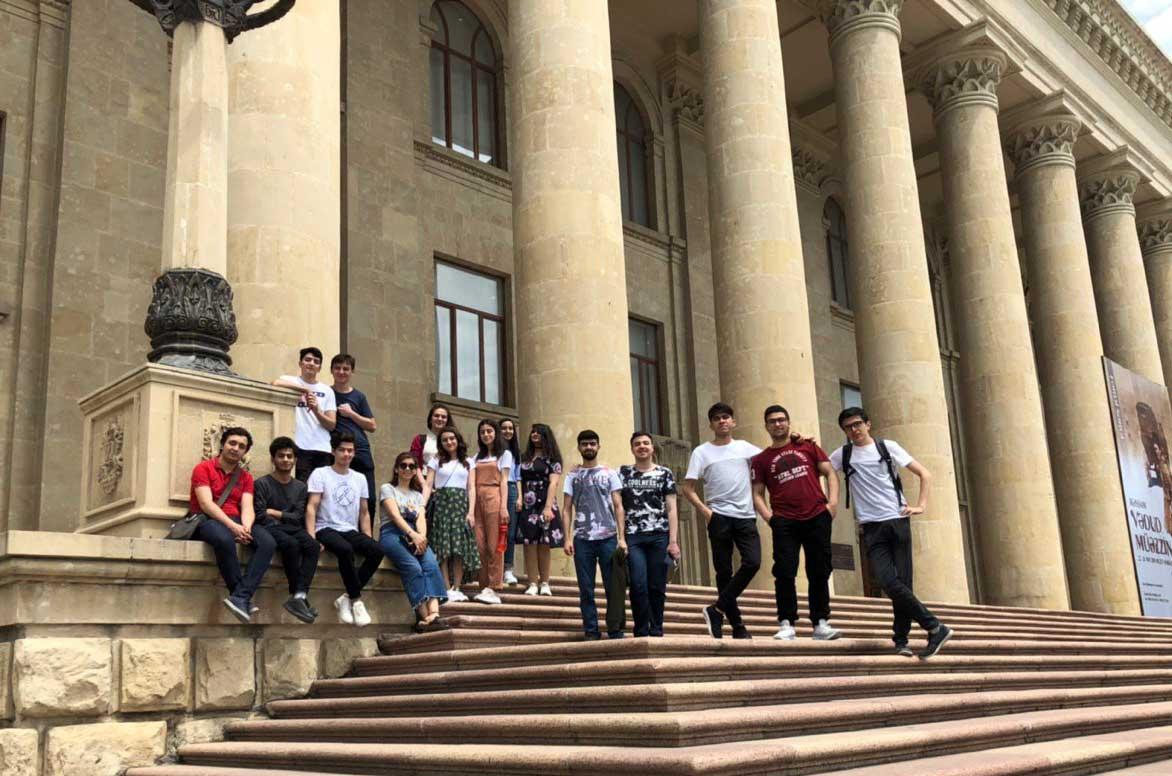 First Year Students Celebrated 101st Anniversary of Azerbaijan Democratic Republic