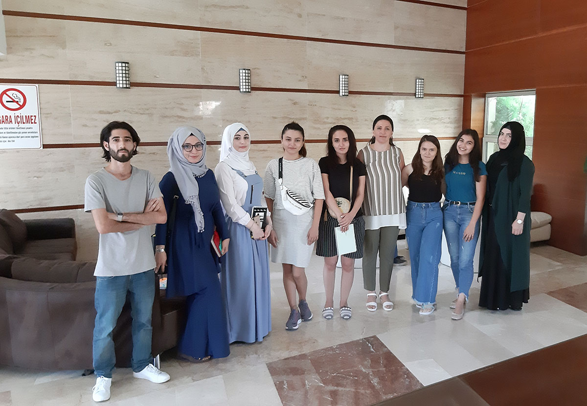 Khazar University Students Took Part in Summer Internship Program in Ankara