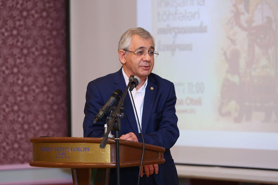 Professor Hamlet Isakhanli at Scientific-practical Conference