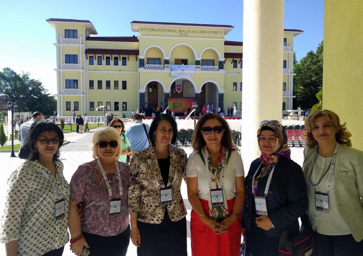 Khazar University's Fellow Delivers Talk at the International Symposium