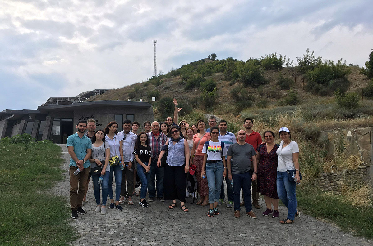 Khazar University Students in 2-week Summer School in Tbilisi & Oslo